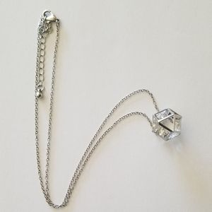 Silver Goemetric Necklace
